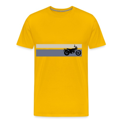 VanVan K8 Yellow Stripes - Men's Premium T-Shirt