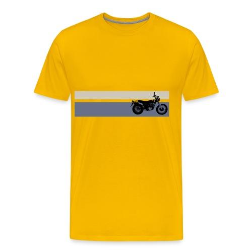 VanVan K8 Yellow Stripes - Men's Premium T-Shirt