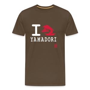 Tee-Shirt Homme I love Yamadori Devant - T-shirt Premium Homme
