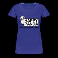 T-Shirts ~ Women's Premium T-Shirt ~ Happy Panda - Girlie