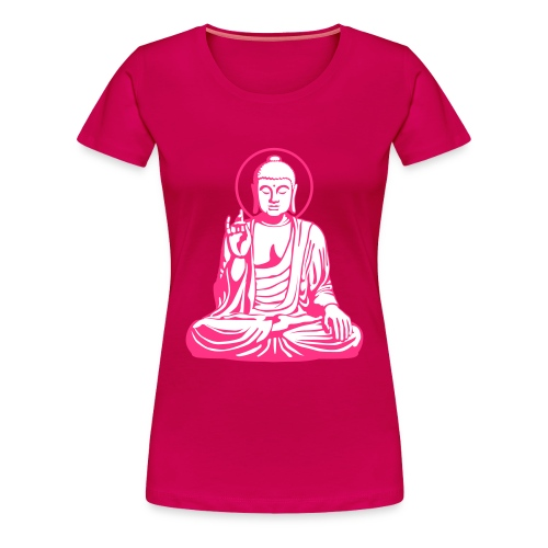 Buddha Pinky - Frauen Premium T-Shirt