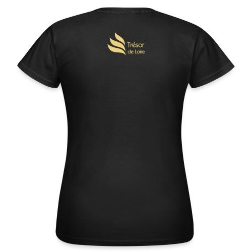 T-shirt femme marine Val de Loire - T-shirt Femme