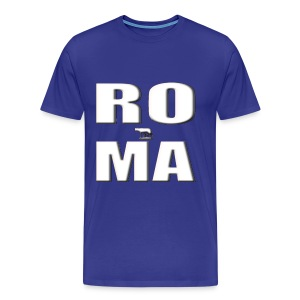 ROMA-WHITE - Men's Premium T-Shirt