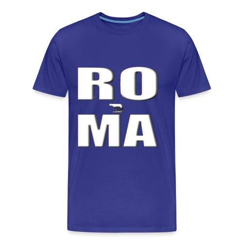ROMA-WHITE - Men's Premium T-Shirt