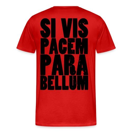 Frieden und Krieg - Männer Premium T-Shirt