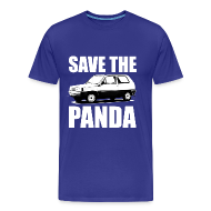T-shirts ~ Mannen Premium T-shirt ~ Save the Panda Funny T-shirt
