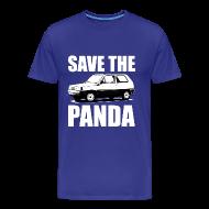T-shirts ~ Mannen Premium T-shirt ~ Save the Panda Funny T-shirt