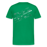 T-Shirts ~ Men's Premium T-Shirt ~ Detailing World 'Detail it' Dual Sided T-Shirt (Men's)