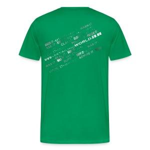 Detailing World 'Detail it' Dual Sided T-Shirt (Men's) - Men's Premium T-Shirt