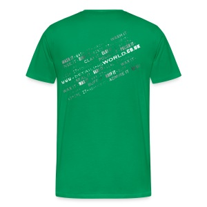 Detailing World 'Detail it' Dual Sided T-Shirt (Men's) - Men's Premium T-Shirt