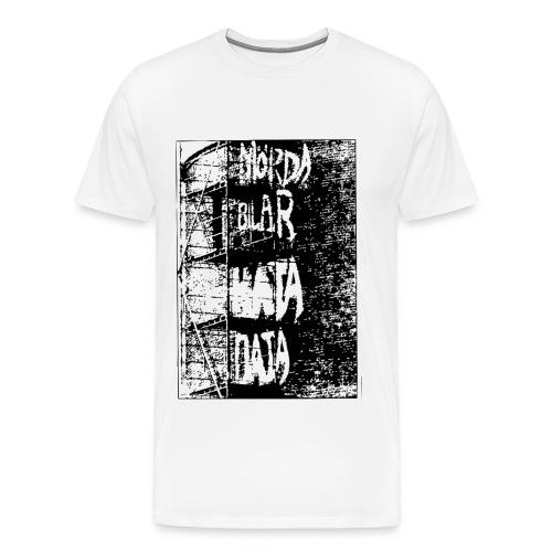 MördaBilarHataData - Premium-T-shirt herr