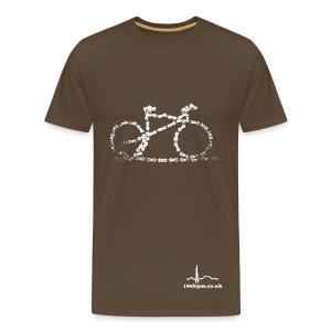 Bike Chain - Men's Premium T-Shirt