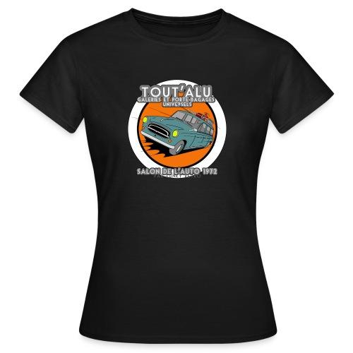 403 TOUT'ALU GRISE - T-shirt Femme