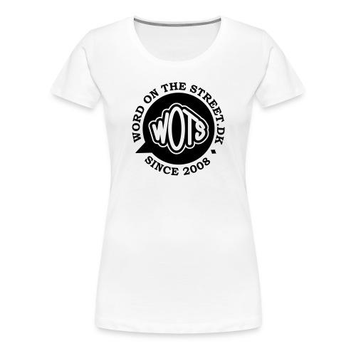 Ladies Love Word On The Street - Dame premium T-shirt