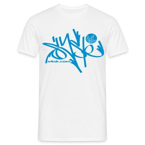 s4sk.com - Brand blue - Männer T-Shirt