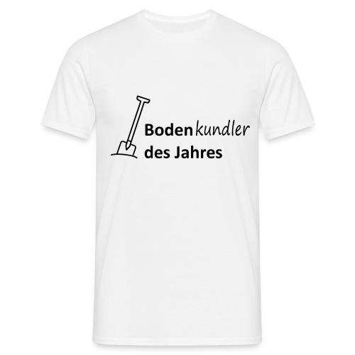 T-Shirt Bodenkundler des Jahres - Männer T-Shirt