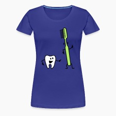 tooth and toothbrush T-shirts