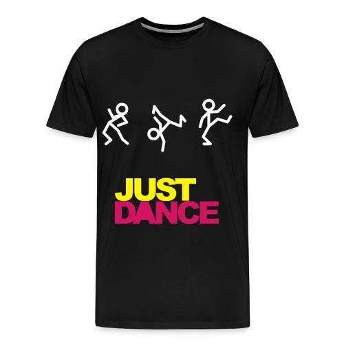 JUST DANCE (Black) - Koszulka męska Premium