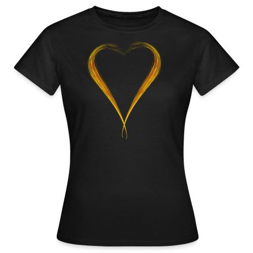 Herz - Frauen T-Shirt