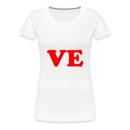 Love part 2 - Frauen Premium T-Shirt
