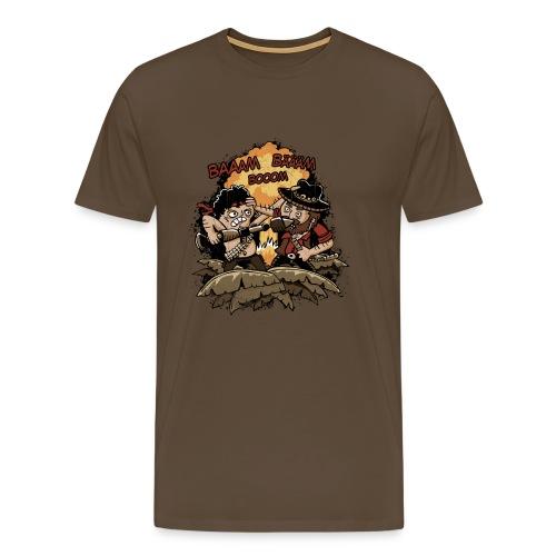 Booom Baaam - Männer Premium T-Shirt