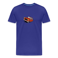Tee shirts ~ T-shirt Premium Homme ~ 403 FULL THROTTLE ROUGE