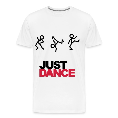 JUST DANCE (White) - Koszulka męska Premium