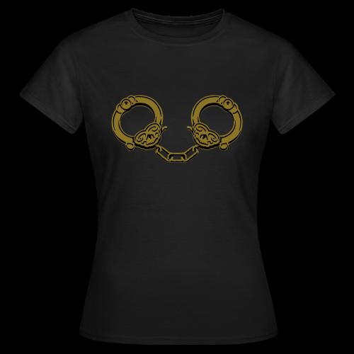 Uncuff Me-Gold - Women's T-Shirt