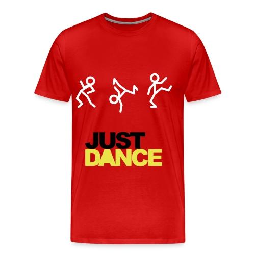 JUST DANCE (Red) - Koszulka męska Premium