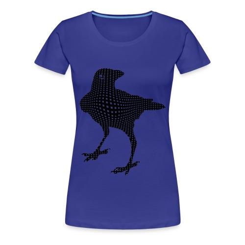 Chequered Crow - Women's Premium T-Shirt
