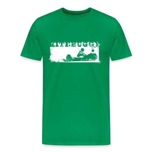 Kite Vintage White - Männer Premium T-Shirt