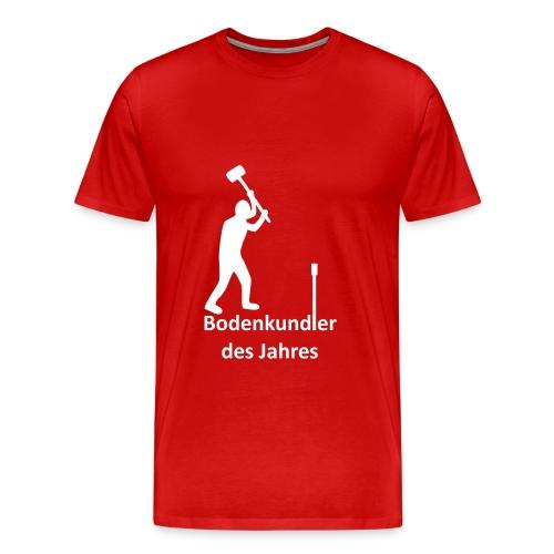 T-Shirt Bodenkundler des Jahres klassisch - Männer Premium T-Shirt