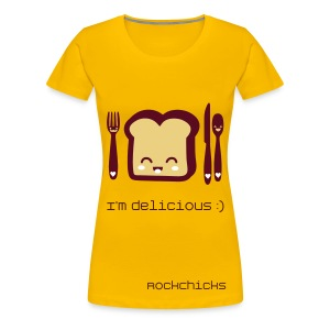 Toasts are delicious! - Frauen Premium T-Shirt