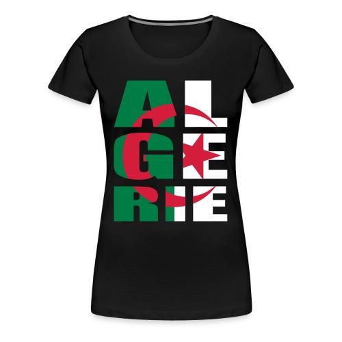 T-shirt Premium Femme - sport,femme,algerie