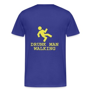 Drunk Man Walking - Men's Premium T-Shirt