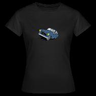 Tee shirts ~ Tee shirt Femme ~ 403 FULL THROTTLE BLEUE