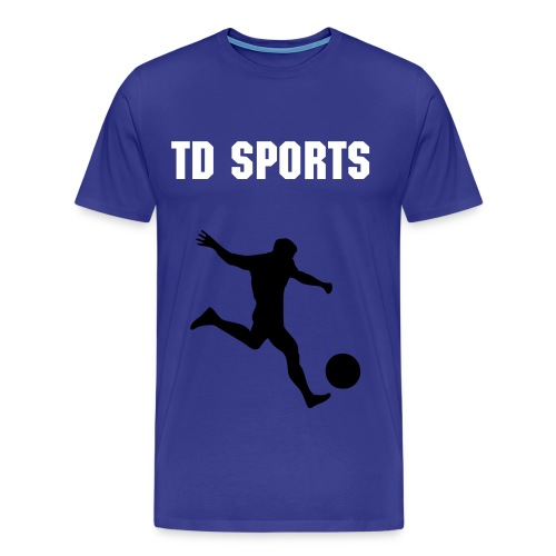 TD SPORTS PROMOTIONAL FOOTY TOP - Men's Premium T-Shirt