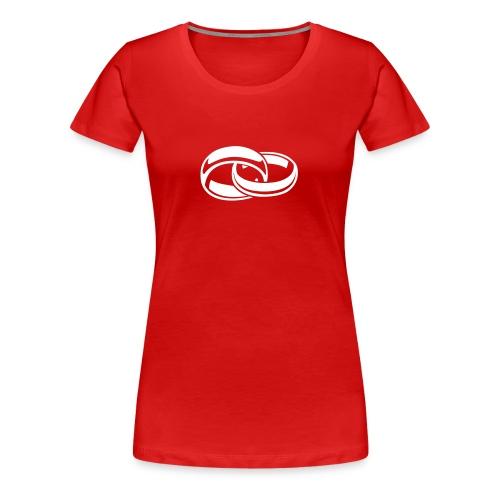engaged - Women's Premium T-Shirt