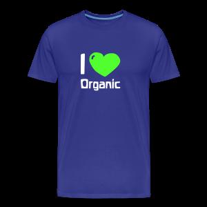 I love Organic Shirt - Männer Premium T-Shirt