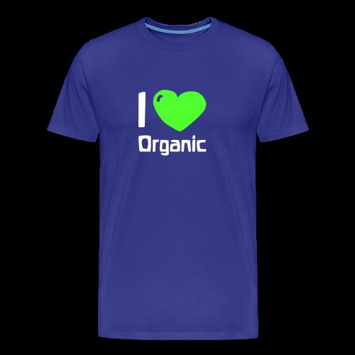 I love Organic Shirt - Men's Premium T-Shirt