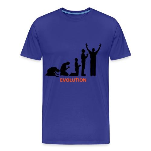 Evolution - Mannen Premium T-shirt