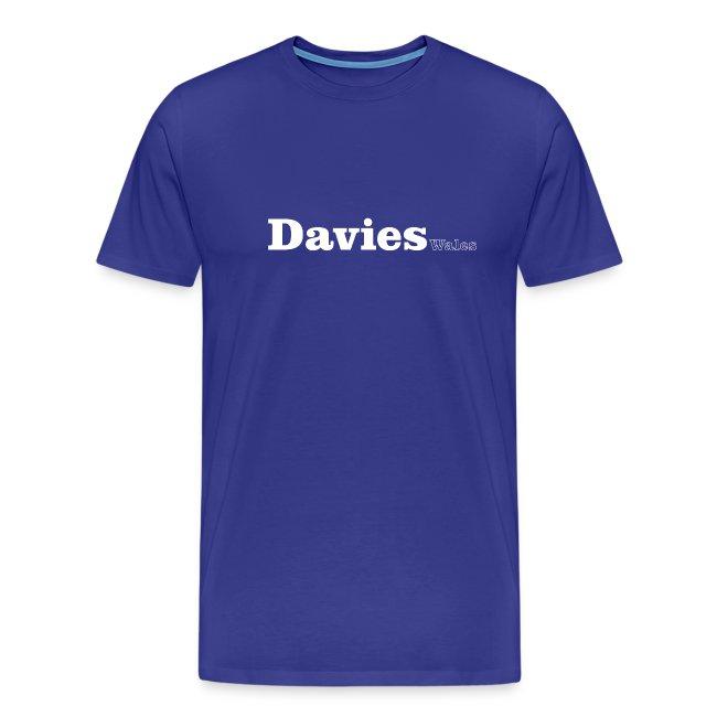 Davies Wales white text
