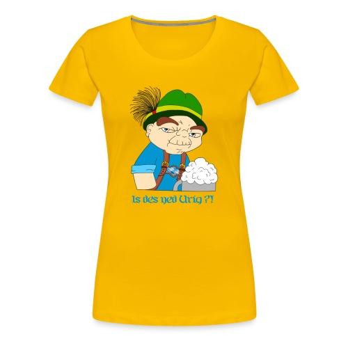 Bayernyoda - Frauen Premium T-Shirt