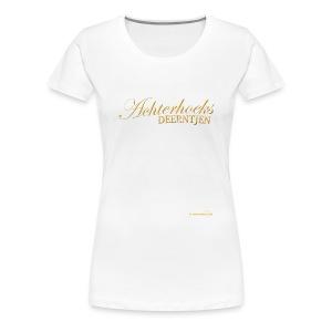 Achterhoeks Deerntjen - Vrouwen Premium T-shirt