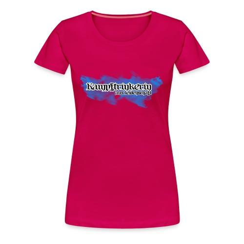 Kampftrinkerin aus Leidenschaft - Frauen Premium T-Shirt