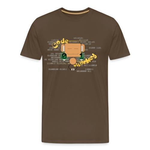 Code Monkey - Männer Premium T-Shirt