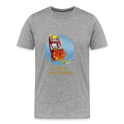 Pousse Robert! Pousse encore! - T-shirt Premium Homme