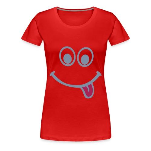 T-shirt langue - T-shirt Premium Femme