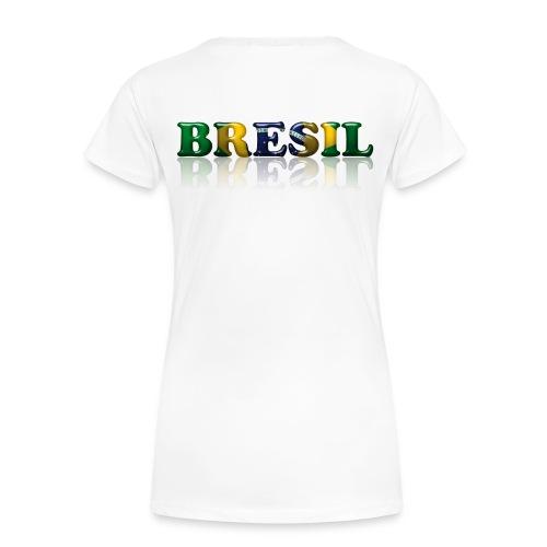 TEE-SHIRT Oversize Femme BRASIL - T-shirt Premium Femme