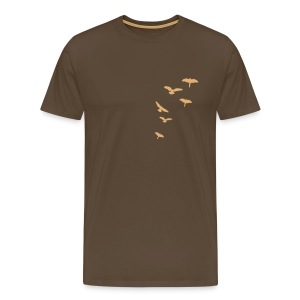 Men's Flocked Flock Tee - Men's Premium T-Shirt